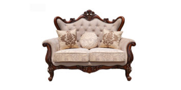 carving sofa - Nawab Sofa Set 2 seater | Looking Good Furniture
