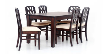 6 seater dining sets - Nessmond 6 seater Dining | Looking Good Furniture