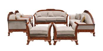 carving sofa - New image Sofa Full Set   Looking Good Furniture