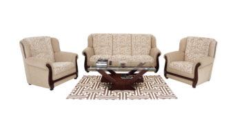Fabric sofa sets - Nucifera Sofa Set 3+1+1 | Looking Good Furniture