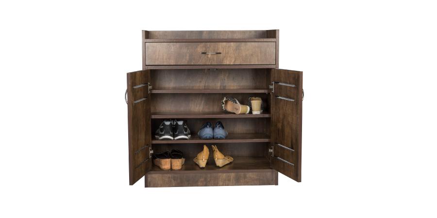 Shoe Racks - Oxuno Shoe Rack Green | Looking Good Furniture