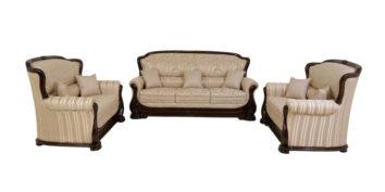 carving sofa - Prima Sofa Set 3+2+2   Looking Good Furniture
