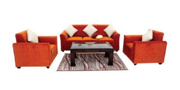 Fabric sofa sets - Robusta Sofa Set 3+1+1 | Looking Good Furniture