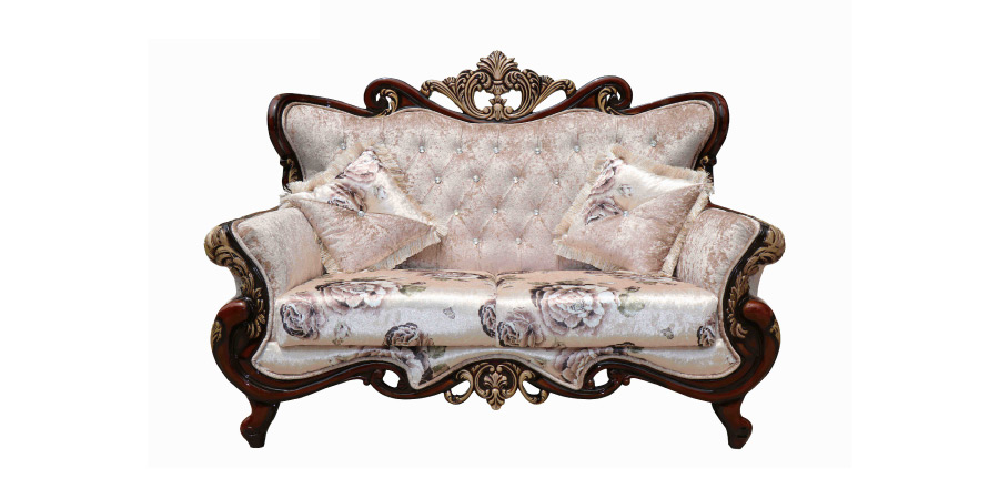 Carving Sofa   Roman Sofa Set 2 Seater | Looking Good Furniture