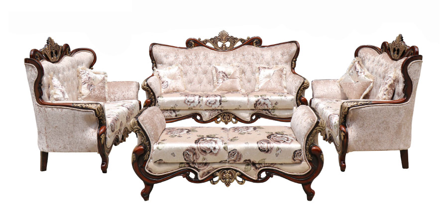 carving sofa - Roman Sofa Set 3+2+2+D | Looking Good Furniture