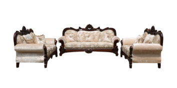 carving sofa - Rose Sofa Set 3+2+2   Looking Good Furniture