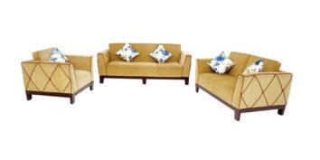 Fabric sofa sets - Rosso Sofa Set 3+2+1 | Looking Good Furniture