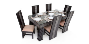 6 seater dining sets - Sialia 6 seater Dining | Looking Good Furniture
