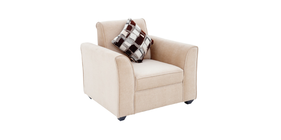 Fabric sofa sets - Tamarix Sofa 1 Seater | Looking Good Furniture