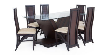 6 seater dining sets - Turdus 6 seater Dining | Looking Good Furniture
