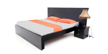 double bed - beds-without-storage - Waves Cot | Looking Good Furniture