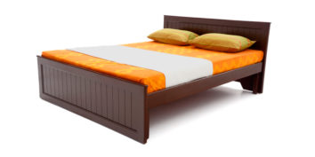 double bed - beds-without-storage - Dosso strip bed | Looking Good Furniture