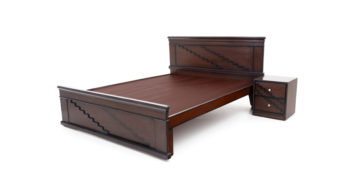 double bed - beds-without-storage - kaffa bed | Looking Good Furniture
