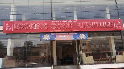 Experience Centre - Show room - Banaswadi Bangalore   Looking Good Furniture