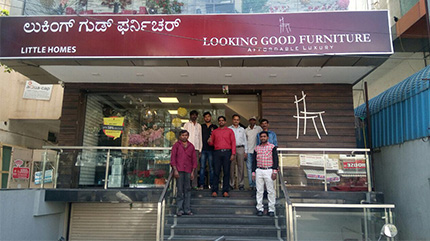 Experience Centre - Show room - Basaveshwarnagar Bangalore | Looking Good Furniture
