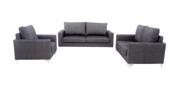 fabric sofa sets - Decorous Sofa Set 3+2+1 | Looking Good Furniture