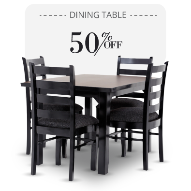 Dining Table - Asio Dining Table - 4 seater dining sets | Looking Good Furniture