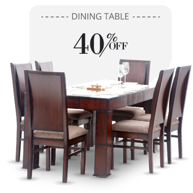 Dining Table - Fendi Dining Table - 6 seater dining sets | Looking Good Furniture