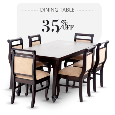 Dining Table - S - Design Dining Table - 6 seater dining sets | Looking Good Furniture