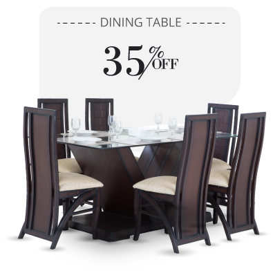 Dining Table - Turdus Dining Table - 6 seater dining sets | Looking Good Furniture