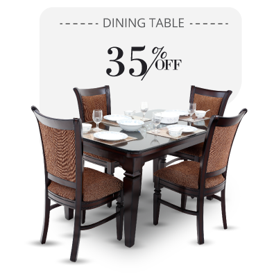 Dining Table - Fulica Dining Table - 4 seater dining sets | Looking Good Furniture