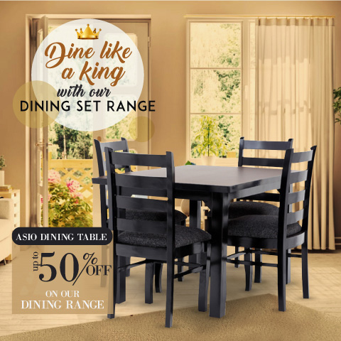 Dine like a king - Dining table - Asio Dining table | Looking Good Furniture