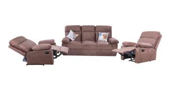 Recliner - sofa cum recliner 3+1+1 |Looking Good Furniture
