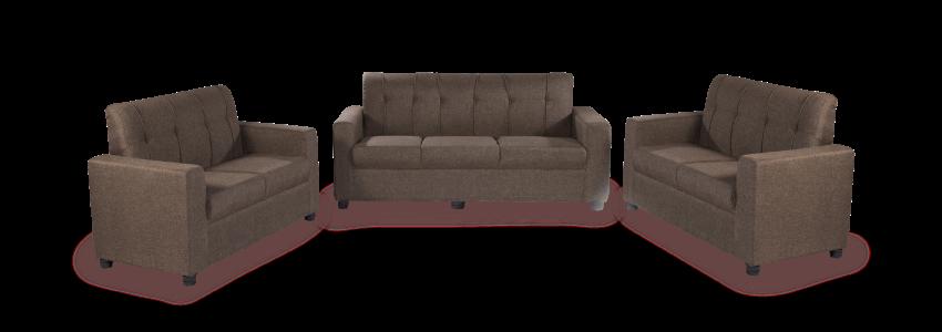 Sofa - sofa-offer-Afifa-brown-sofa | Looking Good Furniture