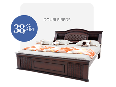 double bed - beds-without-storage - Capsule bed | Looking Good Furniture