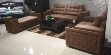 Looking Good Furniture | Ready to be Shipped - Half Arm Sofa set